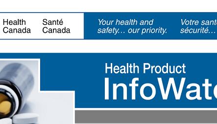 Health Canada: Điểm tin đáng chú ý từ bản tin Health Product InfoWatch tháng 9/2018