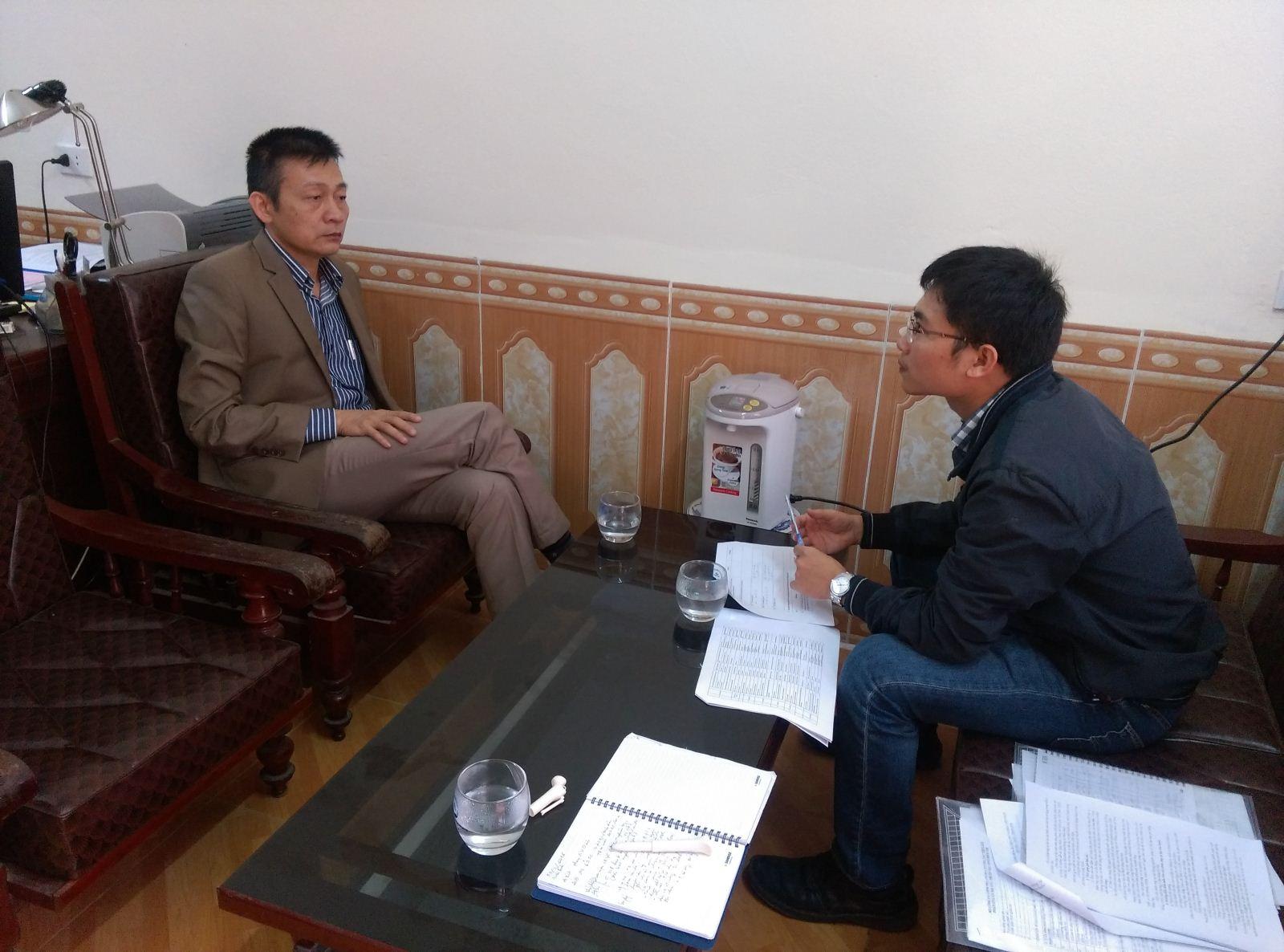 Giám sát hỗ trợ dự án tại Ninh Bình (Tháng 3 năm 2016)
