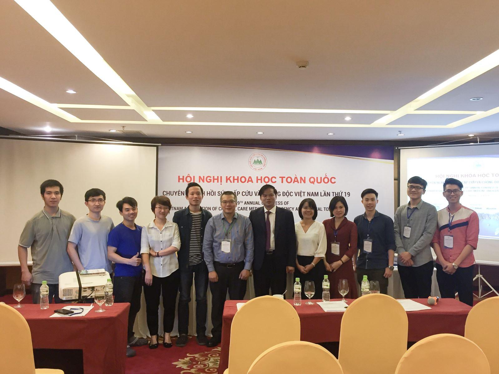 Bài trình bày tại Hội nghị khoa học chuyên ngành Hồi sức cấp cứu và chống độc 2019