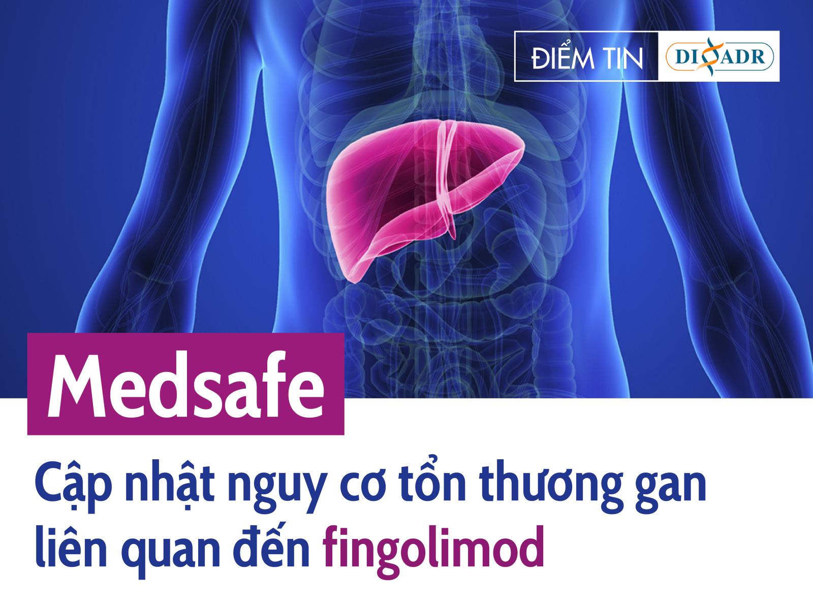 Medsafe: Cập nhật nguy cơ tổn thương gan liên quan đến fingolimod